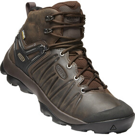 Keen Venture Mid Leather WP Sko Herrer, mulch/black